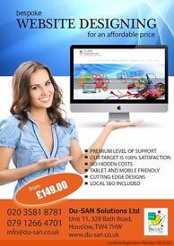 FREE bespoke mobile friendly website + Basic SEO with every service contract