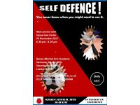 Self Defence - you never know when you might need to use it!!!!