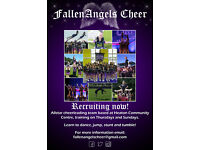 Allstar Cheerleading team recruiting NOW for all ages!