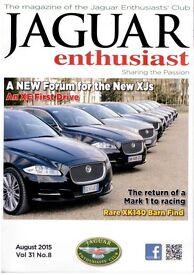 Jaguar Enthusiast Club Magazine