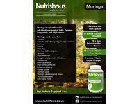 Nutrishous Supplements Moringa Oleifera 120 Vegetarian Capsules