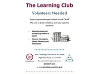 Volunteers assistants needed to assist at children's learning club