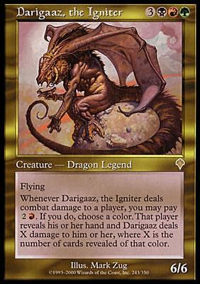 Used, MTG Magic - (R) Invasion - Darigaaz, the Igniter - SP for sale  Shipping to South Africa