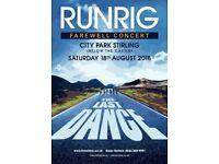 Runrig Tickets x 2