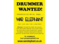 Drummer Wanted - War Elephant (London Based)