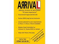 Driving Lessons with Arrival School of Motoring