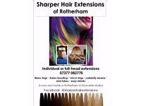 Sharper mobile hair extensions