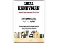 Local Handyman Cookstown/Mid Ulster Area