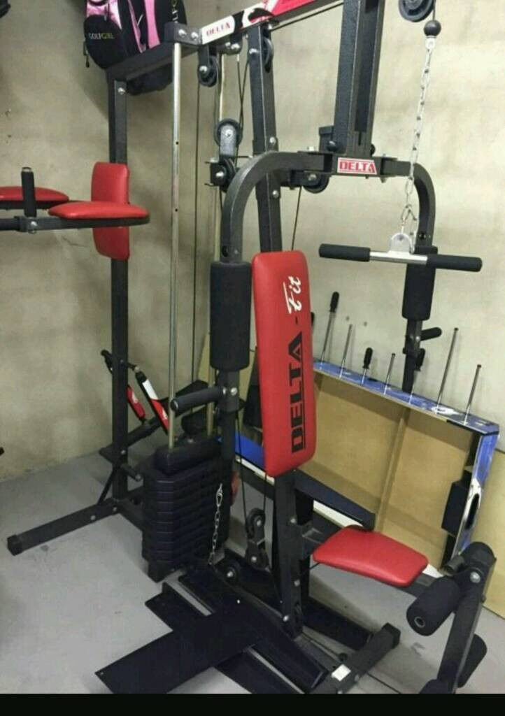 Delta fit home multi gym in bathgate west lothian