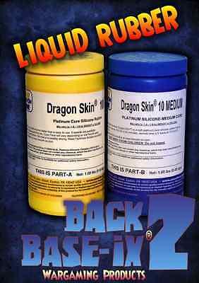 Liquid Silicone Rubber Compound Smooth On Dragon Skin 10 (Medium) Trial Kit