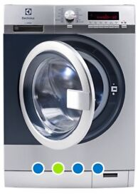Total Bargain with scratch & dent commercial Electrolux washing machine