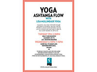 YOGA, Ashtanga Flow - all levels welcome