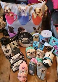 Pug items for sale