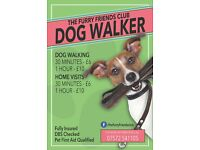 Dog Walking Service - The Furry Friends Club