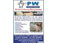 Pressure Washing - Cleaning Patio's and Driveways
