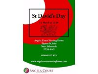 St. David's Day at Angela Court