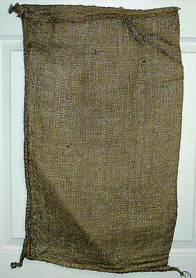 "1 -17"" x 27"" -7oz PLAIN  LIGHTWEIGHT BURLAP SACKS  NEW"