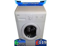 Fast Wash, Time Delay, Big 7KG Drum, Beko Washing Machine, Factory Refurbished inc 6 Months Warranty