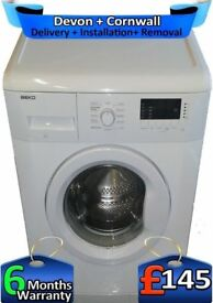Big 8KG, Quick, Fast 1400, Beko Washing Machine, A++, LCD, Factory Refurbished inc 6 Months Warranty