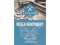 Experienced & Reliable handyman for all your needs!!!