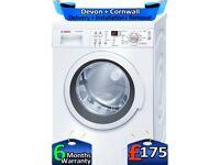 1200 Spin, AAA+, Bosch Washing Machine, 8kg Drum, Factory Refurbished inc 6 Months Warranty