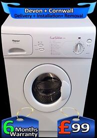 Quick Wash, First Edition, Hotpoint Washing Machine, Fully Refurbished inc 6 Months Warranty