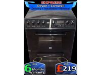 Ceramic Hob, Fantastic Creda Double Fan Assisted Oven,Fully Reconditioned inc 6 Months Warranty