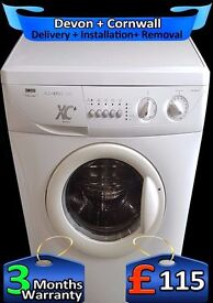 Fast 1200 spin, Many Features, Zanussi 6kg Drum, Fast Wash, Fully Refurbished inc 6 Months Warranty