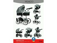Venicci pram (as new)