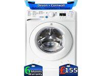 1600 Mega Spin, Indesit Washing Machine, Big 8Kg, AAA+, Factory Refurbished inc 6 Months Warranty