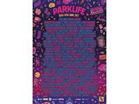 Parklife Sunday 11th June ticket