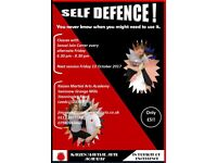 Self - Defence - you never know when you might need it!