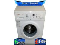 1200 Spin, Bosch Washing Machine, 7kg Drum, LCD, Factory Refurbished inc 6 Months Warranty