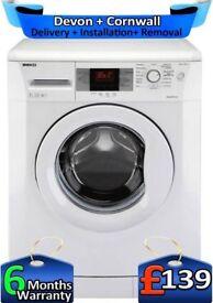 1600 Mega Spin, LCD, Big 7KG, AAA+, Beko Washing Machine, Factory Refurbished inc 6 Months Warranty