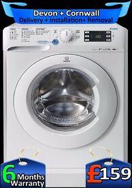 Indesit 9Kg Mega Drum Very Fast 1600, Quick Wash, LCD, A++, Fully Refurbished inc 6 Months Warranty