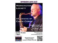 Riverside Arts Jazz - Mornington Lockett an evening of Chick Corea