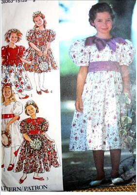 Style Pattern 2429 BRIDESMAID BEST DRESS boho romany gypsy style gathered