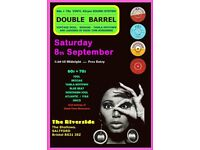SATURDAY 8st SEPTEMBER - 60s 70s SOUL / REGGAE / MOTOWN with DOUBLE BARREL – SALTFORD