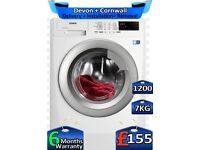 Full LCD, AEG Washing Machine, 1200 Spin, 7kg Drum, Factory Refurbished inc 6 Months Warranty