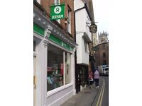 Volunteer Online Sales Developer for Oxfam Books Petergate