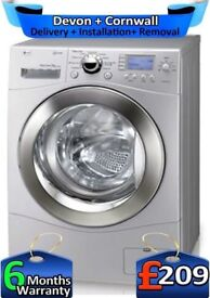9Kg, 1400 Spin, LG Steam Machine, Direct Drive, Top Tech, Factory Refurbished inc 6 Months Warranty