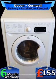 LCD, Fast 1400, 9Kg Mega Drum, Top Indesit Washing Machine, Fully Refurbished inc 6 Months Warranty