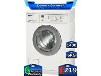 6kg Drum, Rapid Wash, 1400 Spin, Miele Washing Machine, Factory Refurbished inc 6 Months Warranty