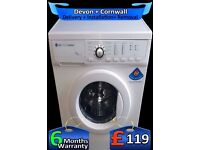 LG Washing Machine, Big 7Kg Drum, Quick Wash, Half Load, Fully Refurbished inc 6 Months Warranty