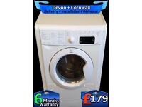 LCD, Indesit 7Kg Washer Dryer, Fast 1600, Auto Wash'n'Dry, Fully Refurbished inc 6 Months Warranty