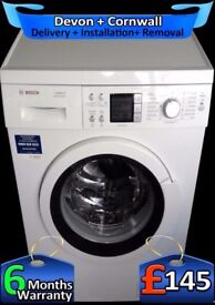Big 7Kg, Top Tech, Top Bosch Washing Machine, AAA+ Rated, Fully Refurbished inc 6 Months Warranty
