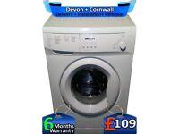 6Kg Drum, Bush Washing Machine, Fast 1200, Quick Wash, Factory Refurbished inc 6 Months Warranty