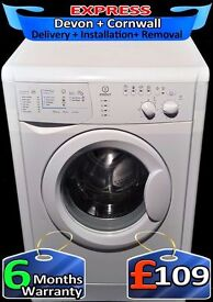 Rapid Wash, Indesit Washing Machine, 1100 spin, Fully Reconditioned inc 6 Months Warranty