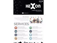Website Design and creation service - Hexon