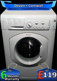 Daily Fast Wash, Fast 1400, Hotpoint Washing Machine, Factory Refurbished inc 6 Months Warranty